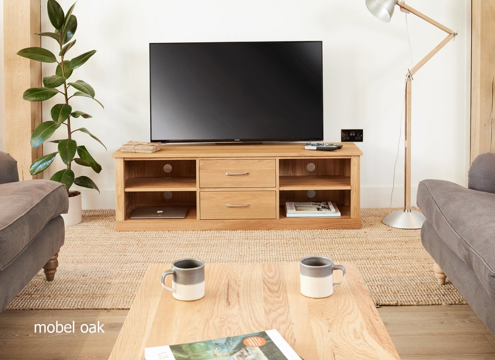 home collections baumhaus baumhaus mobel oak baumhaus mobel oak mounted widescreen television cabinet