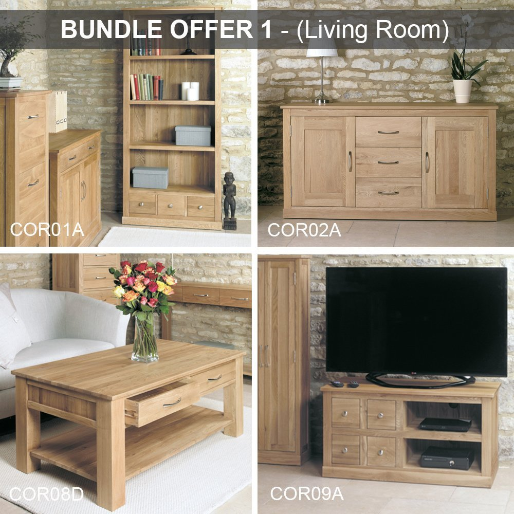 Baumhaus Mobel Oak Living Room Bundle Casamo Love Your